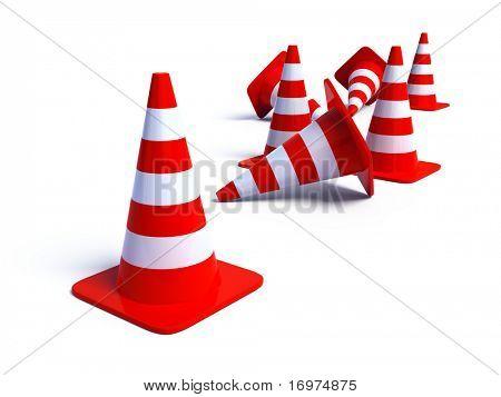 Traffic Cones 3