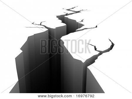Dangerous crack