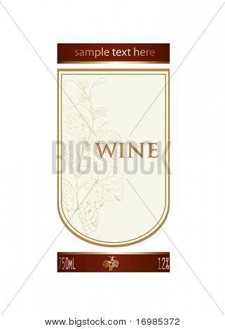 Background for wine label design