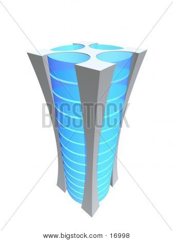 One 3D Tower