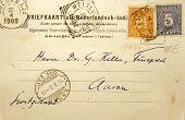 Vintage Card Dutch Indies 1902