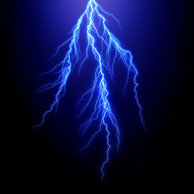 stock photo of lightning bolt  - lightning bolt - JPG