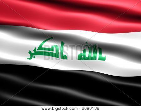 2008 Flagge des Irak