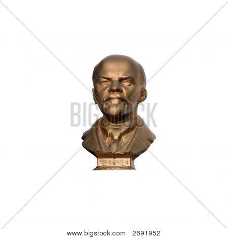 A Bust Of Vladimir Ilyich Ulyanov Lenin