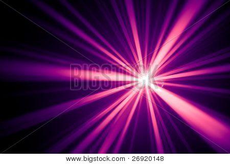 raios púrpura