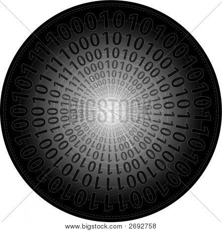 Binary In Circle