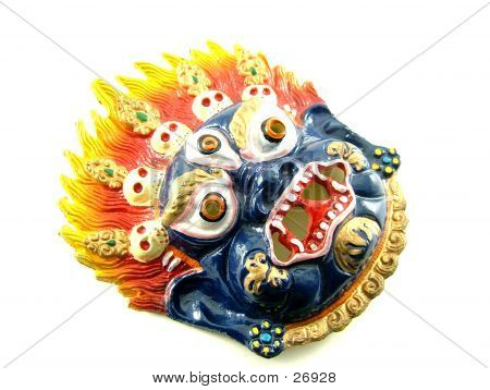 A Demoniac Mask