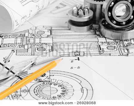 Dibujo de detalle y herramientas de dibujo