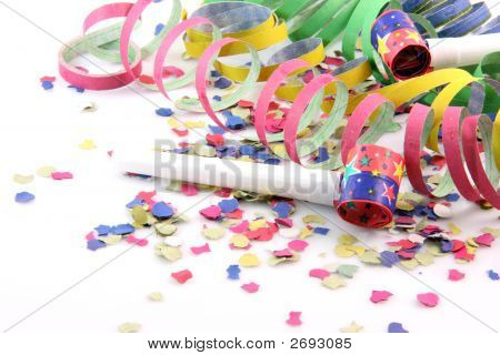 Streamers Confetti And Blowers