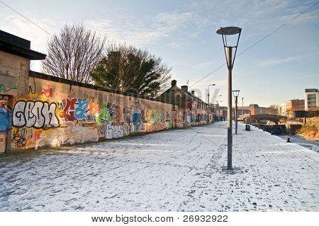 Graffiti wall in Limerick