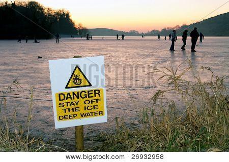 Danger - thin ice