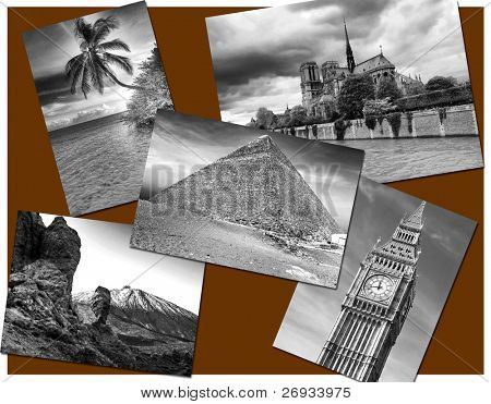 World postcard - all pictures from my gallery