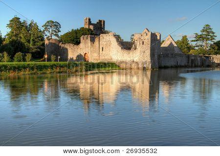 Ruins of castle in Adare - Ireland
