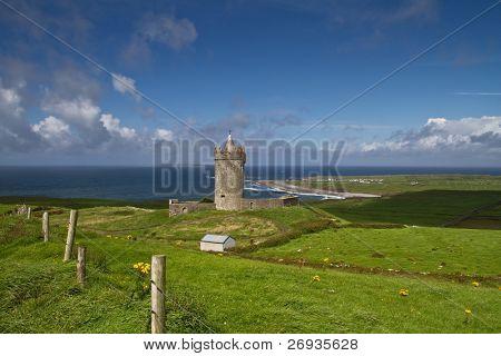 Irish Castle in Doolin