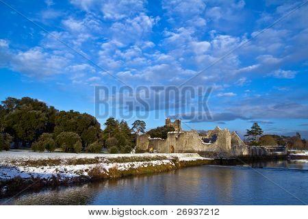 Adare castle at winter - Ireland
