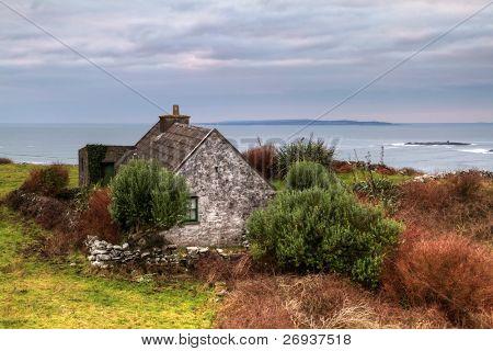 Irish cottage house near Doolin