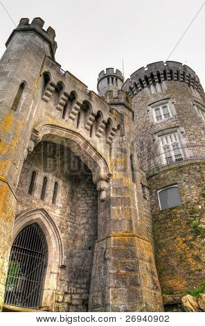 Gate to Blackrock Castle in Cork - Ireland - HDR