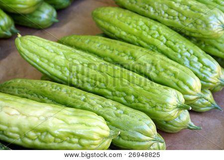 Bitter melons - Chinese street market