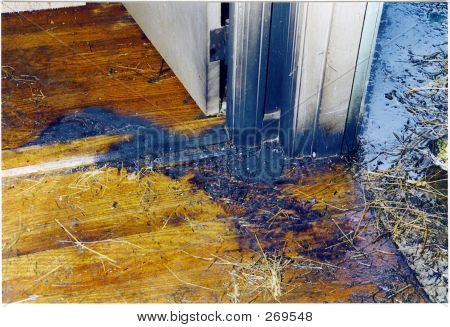 Burn Pattern On Floor