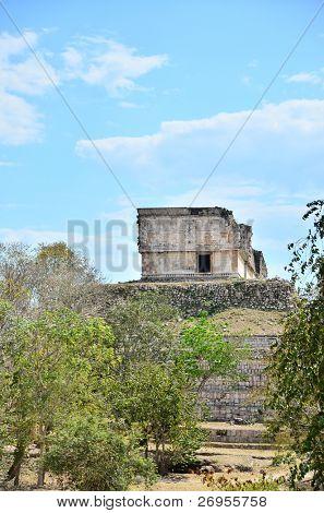 Uxmal, Mexico - Mayan ruins (Governor's Palace)