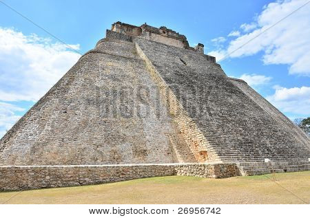 Mayan ruins in Uxmal, Mexico