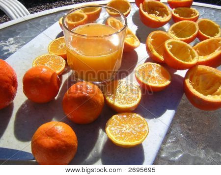 Fresh Squeezed Oragne Juice