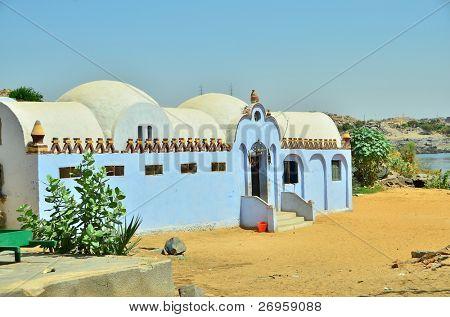 Nubian village, Egypt, Aswan region