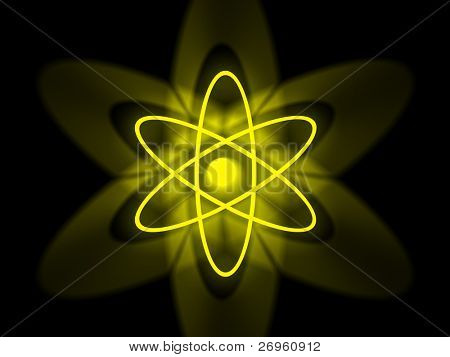Nuclear atomic symbol