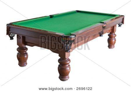 Billiard Table Cutout