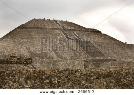 Sun Pyramid Teotihuacan Mexico
