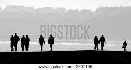 Scarborough People Silhouette