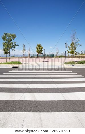 New City Crosswalk