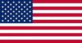 National Flag Of United States Of America. Usa. Background  With Flag Of - United States Of America. poster