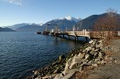 Dock At Porteau Cove Provincial Park, British Columbia