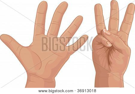 Oito de dedos