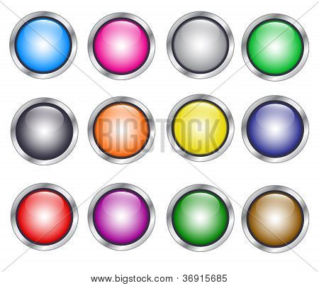 Colorfull Buttons