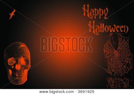 Halloween With Skull