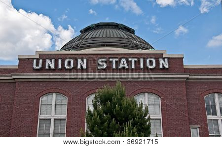 Tacoma, Wa - June 16 - Union Station Renovation Spurs On City's Growth