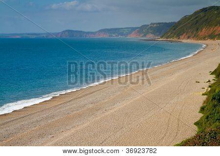 Branscombe beach Devon