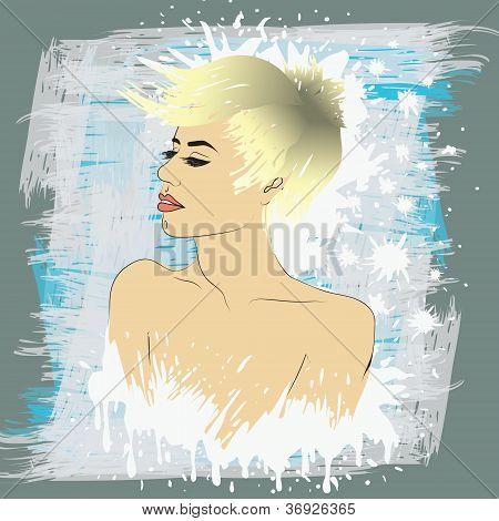 Blonde Butch Woman