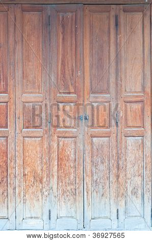 Thai Old Doors