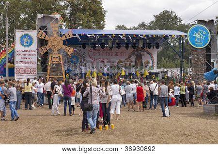 Sorochinskaya Fair- Festival.