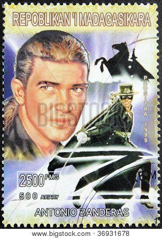 Banderas Stamp