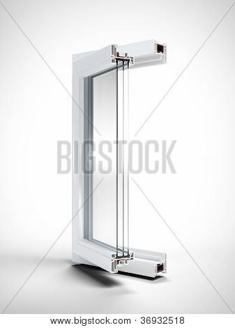Window section isolated