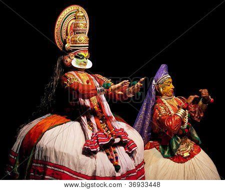 Kathakali theatre