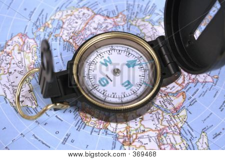 Compass And Map 459