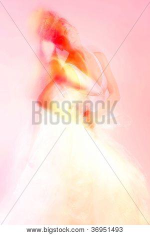 Постер, плакат: Портрет женщина мода макияж и прическа Мода девушка портрет, холст на подрамнике