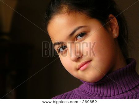 Preteen Girl Portrait