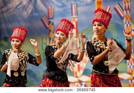 Traditional Burmese Kachin Dance