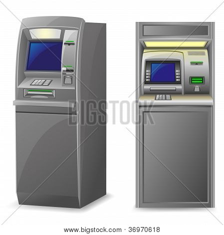 ATM-Vektor-illustration